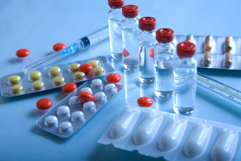 Формы выпуска натибиотиков