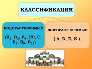 Что такое жирорастворимые витамины, и их список