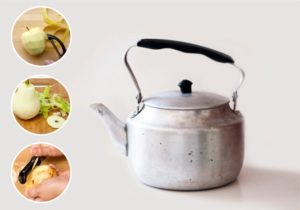Как очистить от накипи чайник с помощью лимонной кислоты