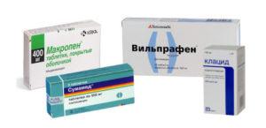 Список антибиотиков группы макролидов с названиями