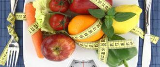 Список продуктов с отрицательной калорийностью