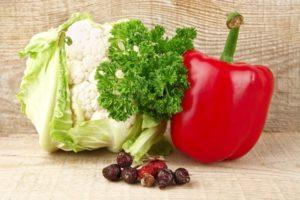 Список продуктов с высоким содержанием витамина С