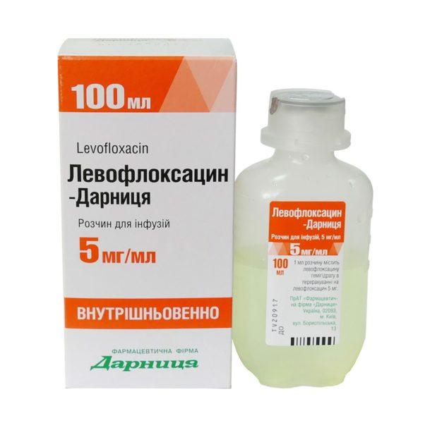 Левофлоксацин раствор