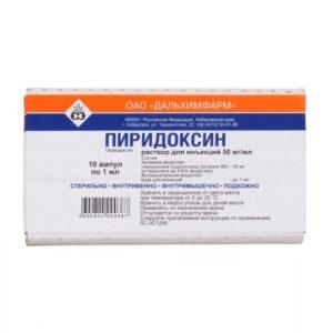 Что такое пиридоксина гидрохлорид, и для чего он нужен