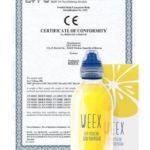 Сертификат препарата Викс