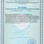 Сертификат Тетроген
